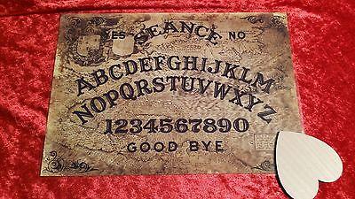 Bizarre Magick Celestine Ouija Board laminated sheet fortune telling Halloween