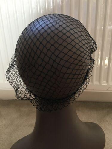 3 HAIR NETS Black