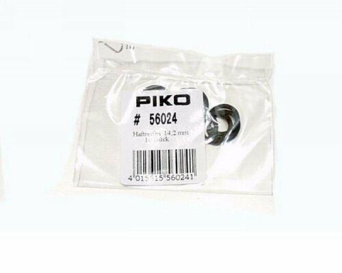Piko 56024 10x Haftreifen 14,2 mm H0 Ersatzteil Fabrikneu