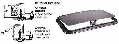 "CRL/SFC 22"" x 38"" NewPort Sunroof w/ Universal Trim Ring Solar High Performance"