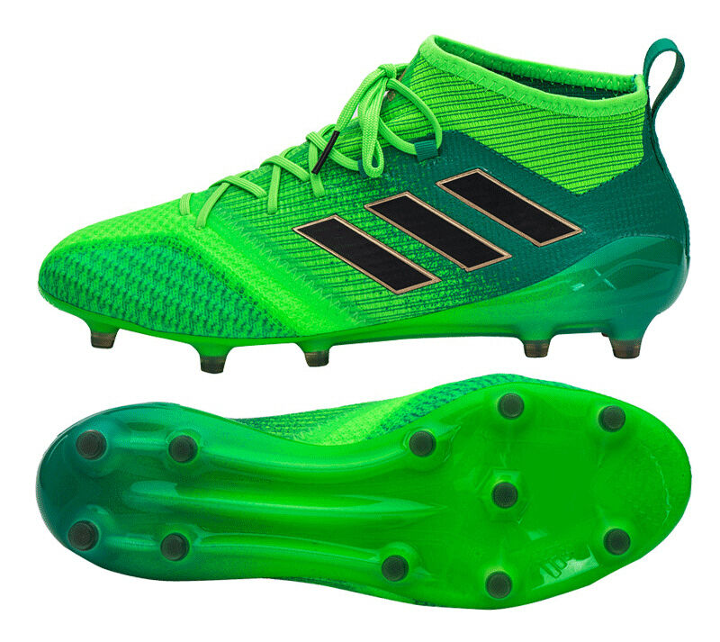 Adidas ACE 17.1 Primeknit FG (BB5961) Botines De Fútbol Zapatos botas verde