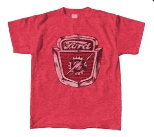 Ford-Lightning-Retro-RED-HEATHER-Adult-Shirt