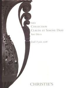 Christie-039-s-Catalogue-Collection-Claude-et-Simone-Dray-Art-Deco-2006-HB