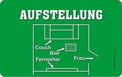 "Frühstücksbrettchen Rahmenlos /""Achtung Rentner/"" 23,5 x 14,5 cm"