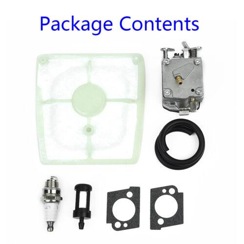 Carburetor Spark Plug Kit For STIHL 041 041 Farm Boss Gas Carb Chainsaw Parts
