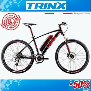 e bike mountainbike fahrrad trinx x1e 26 zoll pedelec. Black Bedroom Furniture Sets. Home Design Ideas