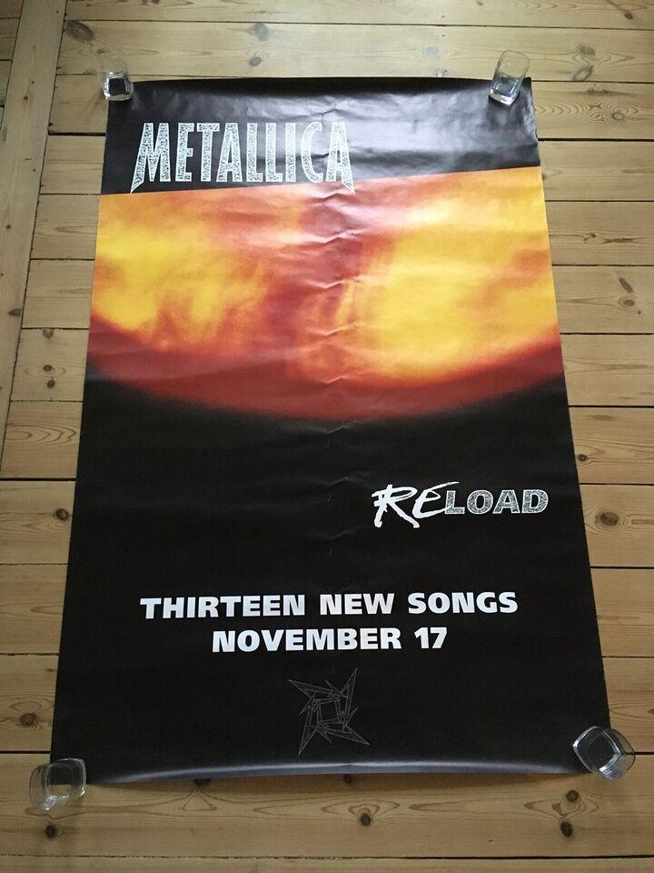 Plakat, Metallica, motiv: ReLoad
