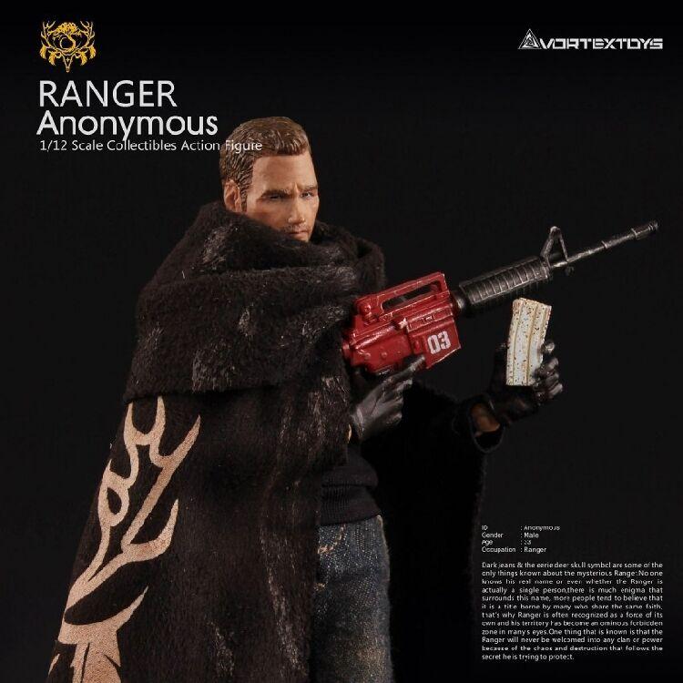 1 12 Ranger Anonymous Series The Ranger Male Figure Body Model VORTEXTOYS V00012