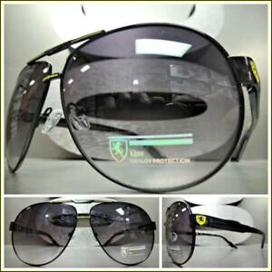 2ed322ecec Men Classic Vintage Retro Style SUN GLASSES Black   Yellow Frame ...