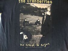 Vintage 1995 THE CRANBERRIES No Need To Argue CONCERT TOUR 90s grunge T Shirt XL