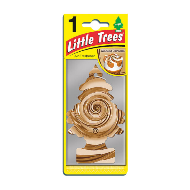 Magic Tree Little Trees Car Home Air Freshener Freshner Scent - MELTING CARAMEL