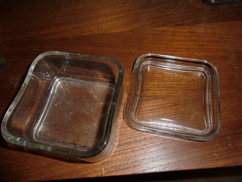 Glas, opbevaring, Wagenfeld og Holmegaard