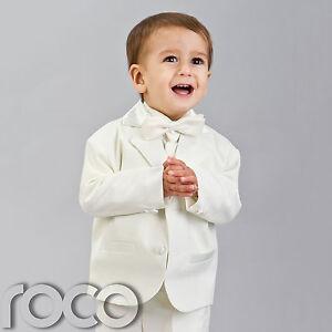 Baby-Boy-Suits-Ivory-Cream-Tuxedo-Wedding-Formal-Cruise-Page-Boy-Suit-0-24m