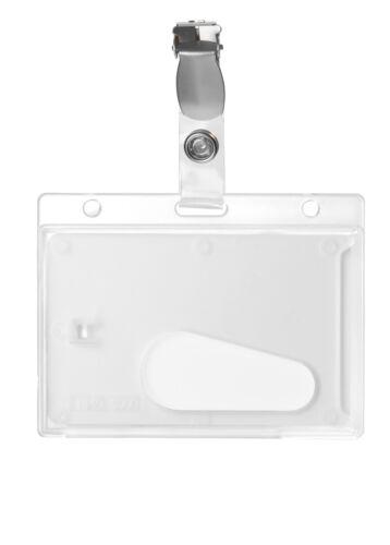 Kartenhalter Kartenhülle Ausweishalter mit Clip neu