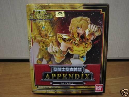 NEW Cloth Myth Appendix : Leo Aioria Bandai JAPAN