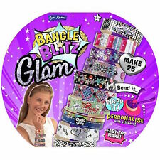 BANGLE BLITZ GLAM Make Decorate 25 Your Own Glitter Bangles