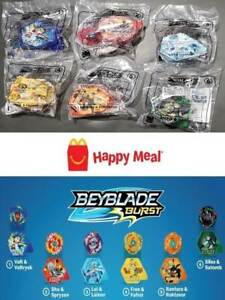 MCDONALD-039-S-2020-BEYBLADE-BURST-COMPLETE-SET-OF-6-TOYS-ON-HAND