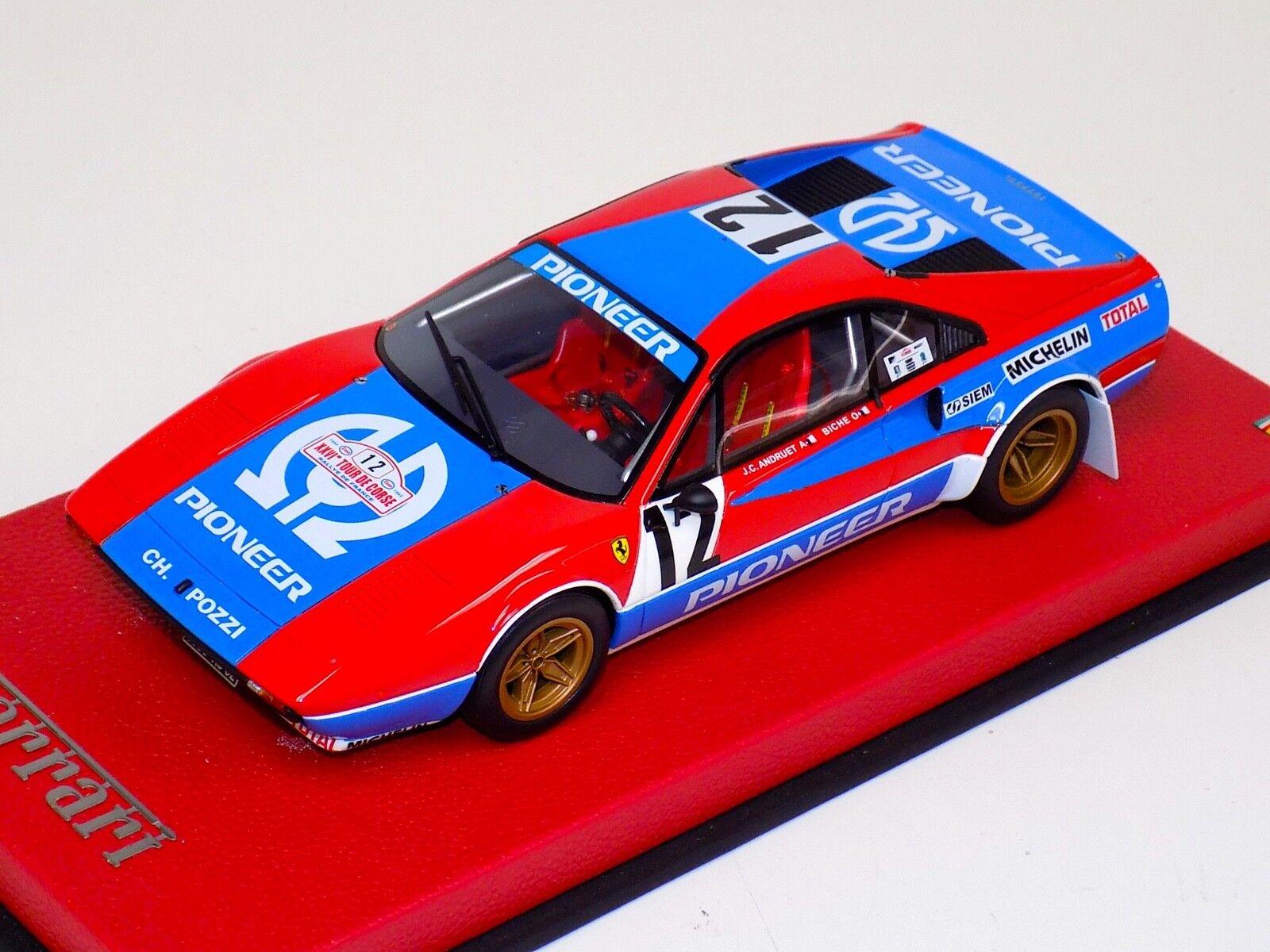 70% de descuento 1 18 Otto GT Spirit Ferrari Ferrari Ferrari 308 GTB GRP 4 Rally Tour de Corse 1982 OT657 Cuero  envío rápido en todo el mundo