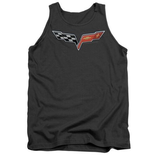 Mens Chevy Corvette Logo Tank Top