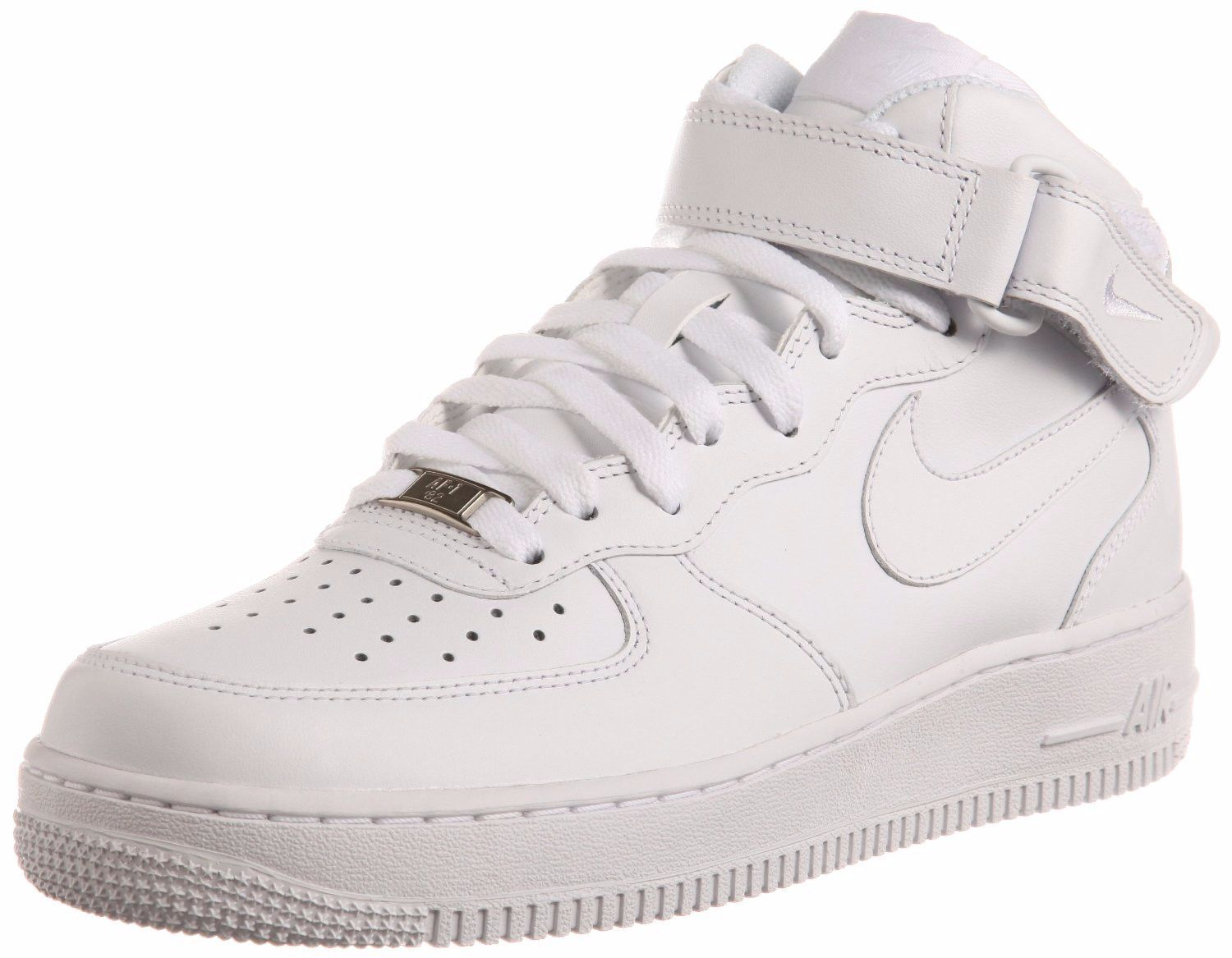 Nike Air Force 1 Mid '07 White/White Price reduction Cheap women's shoes women's shoes