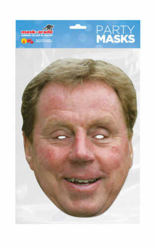 Harry redknapp Maschera Celebrità Party Costume Maschere Festa Divertente
