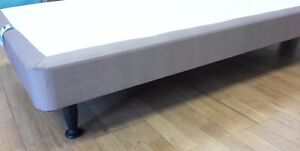a615347cfac6 3ft single divan bed base with screw in legs.Shallow thin low leg base ...