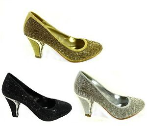 WOMENS-BRIDAL-WEDDING-PROM-PARTY-LADIES-HEELS-CLASSIC-PUMPS-COURT-SHOES-SIZE-3-8