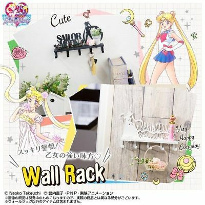 Pink from Japan Black NEW Bandai Sailor Moon Wall Rack 1 of 3 3Types White