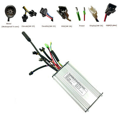 48V 36V 22A KT Controller For 500W 750W Brushless Electric Bicycle Waterproof US