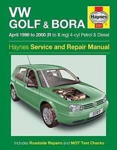 vw golf haynes workshop manual mk4 bora estate 1998 2000 volkswagen rh ebay co uk manuel service vw golf 4 vw golf mk4 workshop manual free