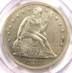 1873-PROOF-Seated-Liberty-Silver-Dollar-1-Coin-PCGS-Proof-Details-PR-PF