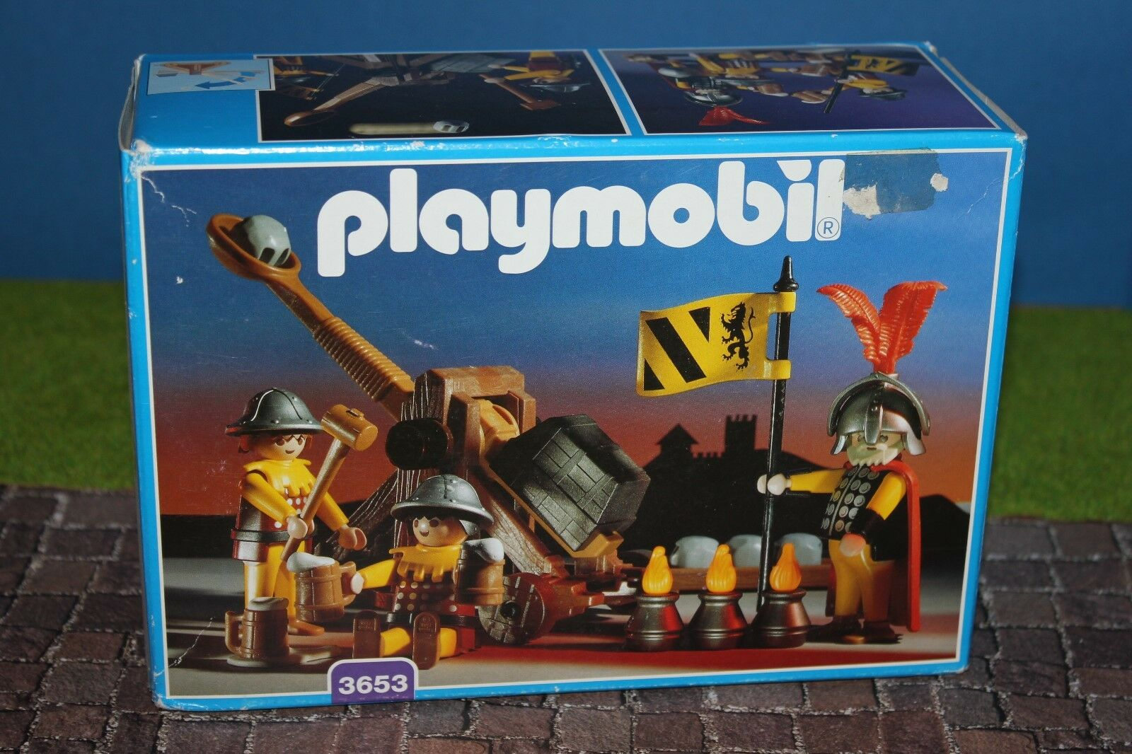 Playmobil  3653  Katapult   MISB  NEU OVP   RAR