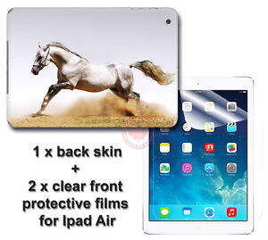 White-Horse-Arts-SKIN-STICKER-COVER-and-2-protected-films-Apple-for-iPad-Air
