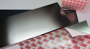 Set : AUTOCOLLANT tole en acier inox B : 150mm, L/S AU CHOIX + ...