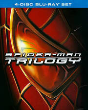 Spider-Man / Spider-Man 2 / Spider-Man 3 Trilogy (Blu-ray Disc, 4-Disc Set) NEW!