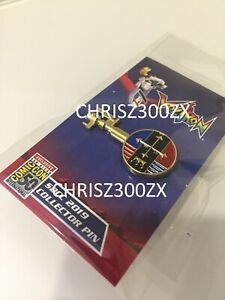 SDCC-2019-Han-Cholo-Exclusive-Voltron-Gold-Lion-Key-Enamel-Pin