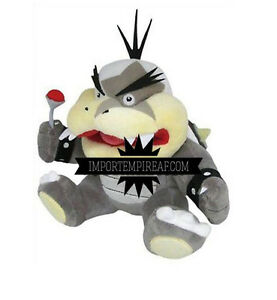 SUPER MARIO BROS MORTON KOOPA JR. PELUCHE pupazzo plush bowserotto koopalings ds