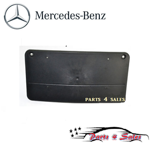 Mercedes R170 SLK230 98-00 Front License Plate Base 1708850381 Genuine NEW