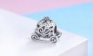 Charm Argent 925 Sac Carrosse Cendrillon Disney Bracelet Pendentif Type Pandora Bien Vendre Partout Dans Le Monde