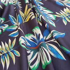 sewing dress fabric 1.05m x 1.40m piece Printed Polyester /'Gaia B/',