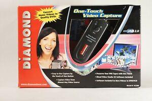 Diamond-Multimedia-VC500-USB-2-0-One-Touch-VHS-Hi8-Video-Capture-Device-Digitize
