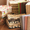 Natural Printing Heavy Cotton Linen Fabric Canvas Upholstery Home Decor Drapery