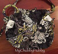 Vera Bradley 3pc Baroque Emma Purse, All-in-one Wristlet & Tote Bag Set