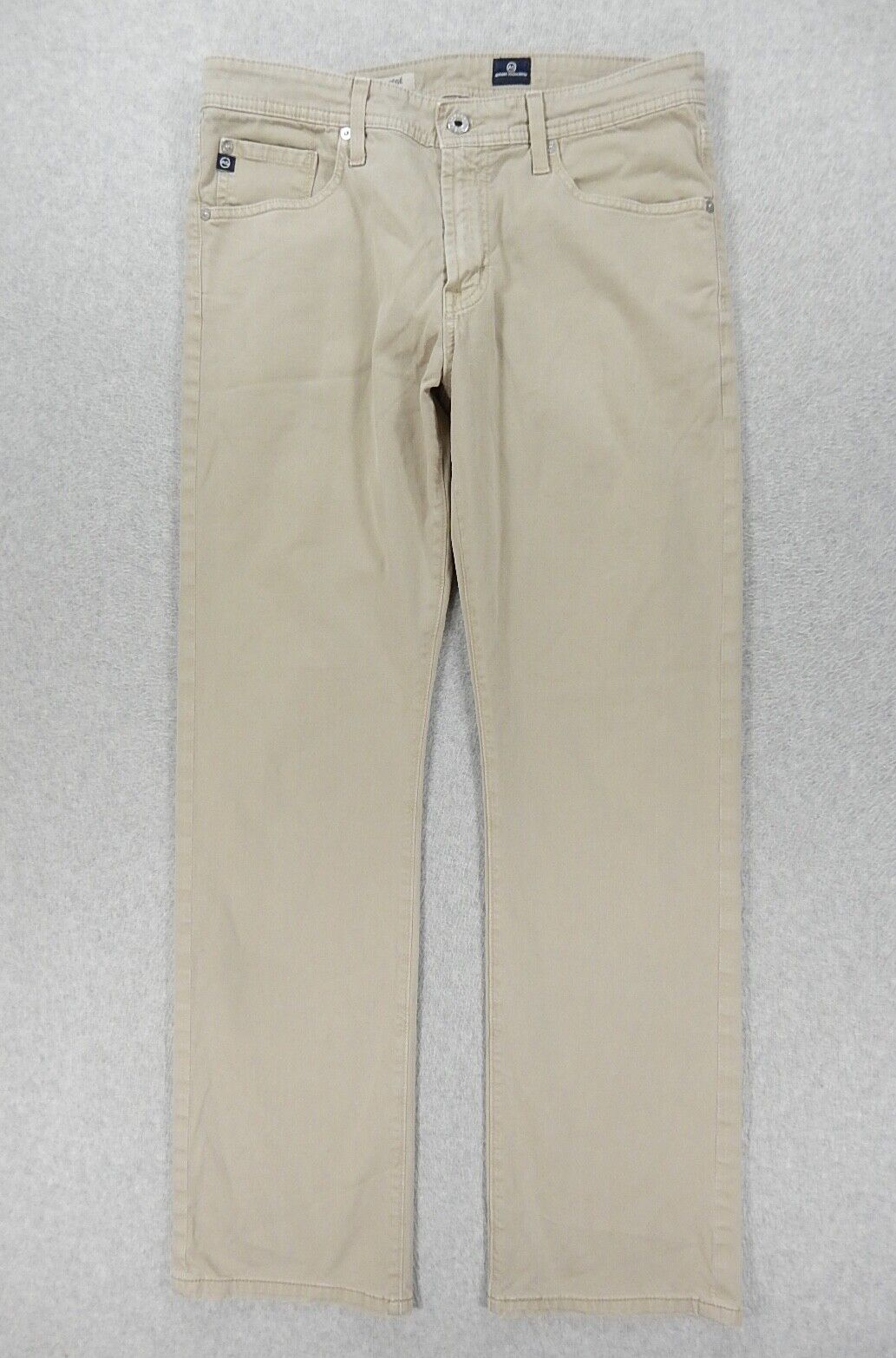 Adriano goldschmied THE PredEGE Straight Leg Pants (Mens 32x32) Tan