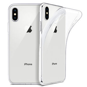 Slim-Shockproof-Silicone-Clear-Case-For-iPhone-11-Pro-Max-XR-XS-Max-X-8-7-Plus