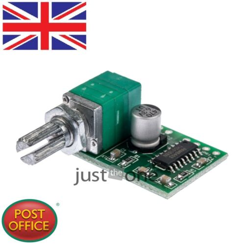 PAM8403 5V Power Audio Amplifier Board 2 Channel 3W W Volume Control// USB Power