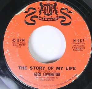 Hear-Northern-Soul-Blue-Eyed-45-Glen-Convington-The-Story-Of-My-Life-If-I-L