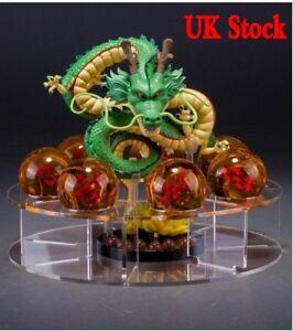 Dragonball Z Shenlong Shenron+7x Star Crystal Ball Set Stand Toy Xmas Gift UK