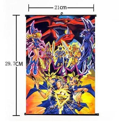 "Hot Anime Yu-Gi-Oh Dark Magician Home Decor Poster Wall Scroll 8/""x12/"" FL965"