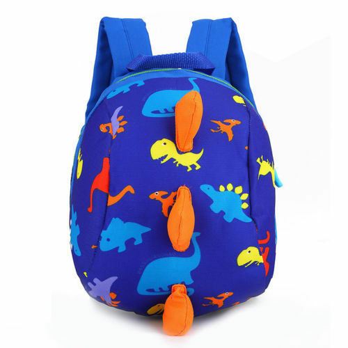 Hot Cute Baby Toddler Kids Dinosaur Safety Harness Strap Bag Backpack with Reins